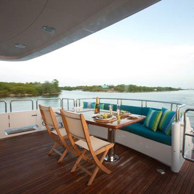 Just Enough Yacht Aft Deck