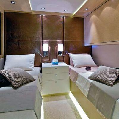 O'Pati Yacht Twin Stateroom