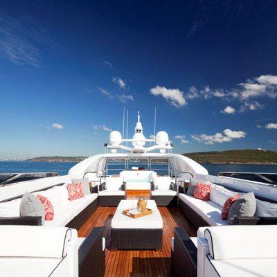 Lisa IV Yacht Sundeck