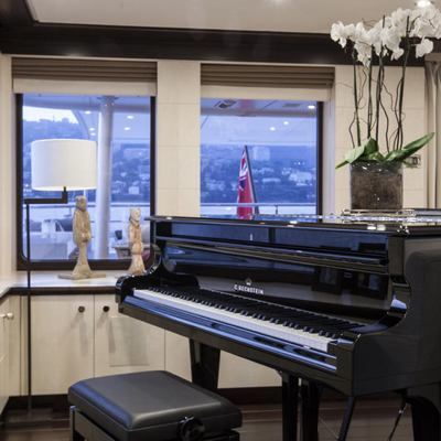 Revelry Yacht Piano in Skylounge