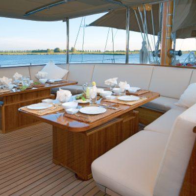 Tiziana Yacht Exterior Seating