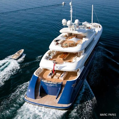 Mary-Jean II Aerial View - Decks