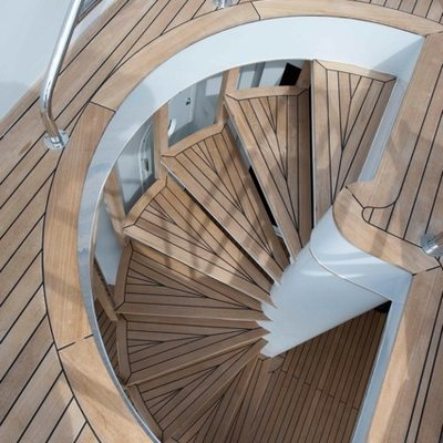 Palm B Yacht Exterior Staircase