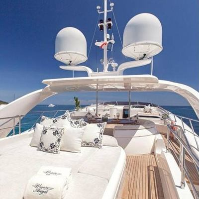 Whispering Angel Yacht Sundeck