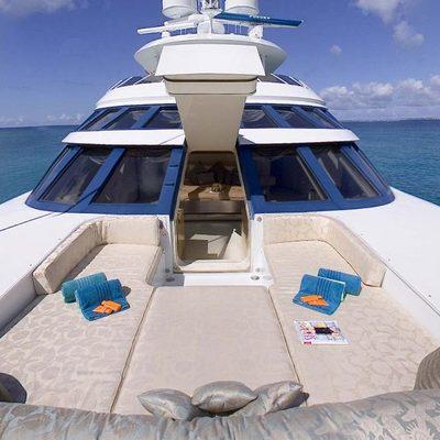 Azzurra II Yacht Foredeck
