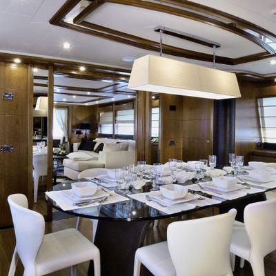 Sima Yacht Dining Salon