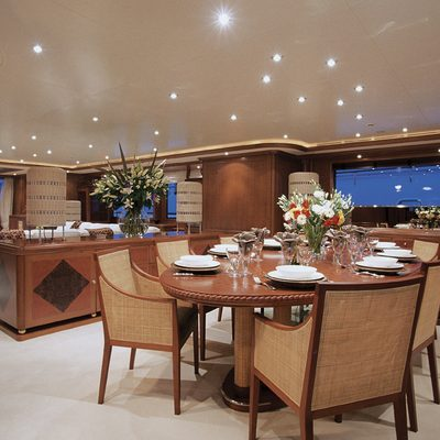Jo Yacht Dining Salon