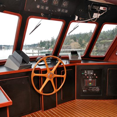 Kayana Yacht Pilothouse