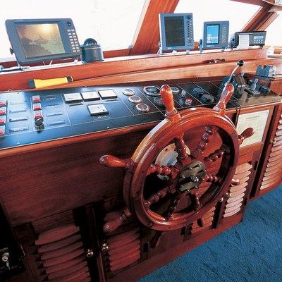 Matina Yacht Pilothouse