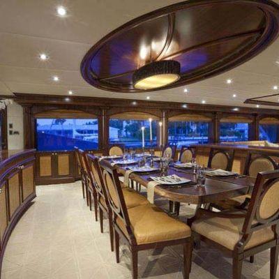 Wheels Yacht Formal Dining