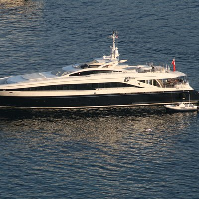 G Force Yacht Aerial View