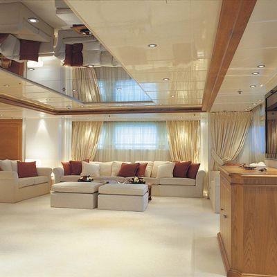 Elegant 007 Yacht Main Salon - Overview