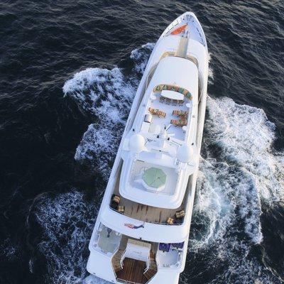 At Last Yacht Overhead