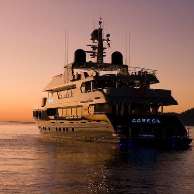 Odessa Yacht Sunset