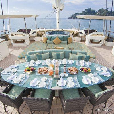 Hemisphere Yacht Bridge Deck Dining
