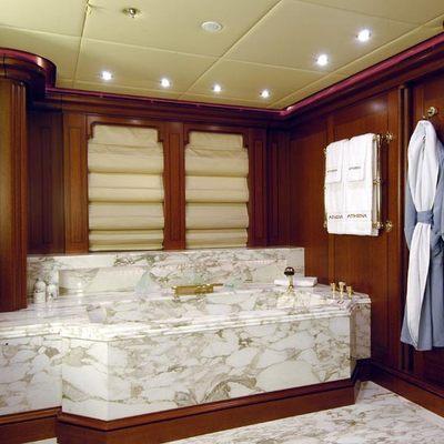 Athena Yacht Master Bathroom