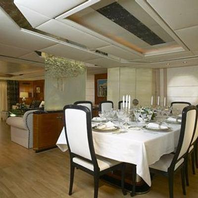 AMZ Yacht Dining Salon