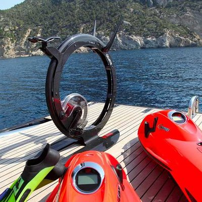 Prana Yacht Ciclotte 'ride on design' gym equipment