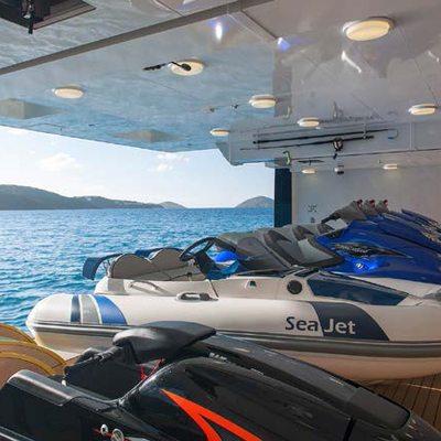 Solandge Yacht Tender Garage