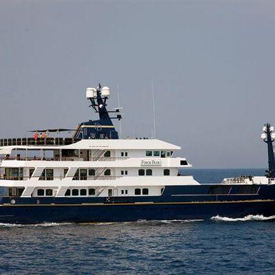Force Blue Yacht Running Shot - Profile