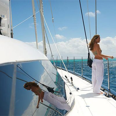 Bliss Yacht Side Decks
