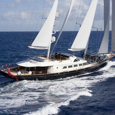 Antara Yacht Running Shot - Overview