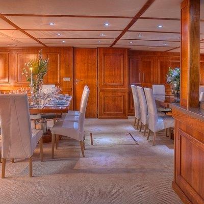 Sanssouci Star Yacht Interior Dining