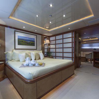 Azul V Yacht VIP Stateroom