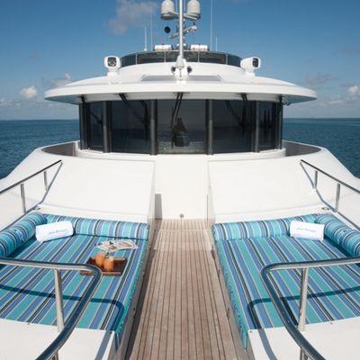 Just Enough Yacht Sunbeds Forward