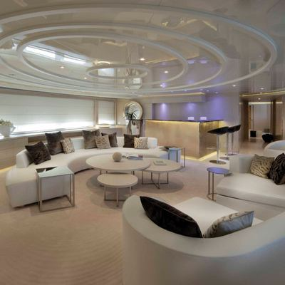 Light Holic Yacht Upper Deck Lounge - Side View