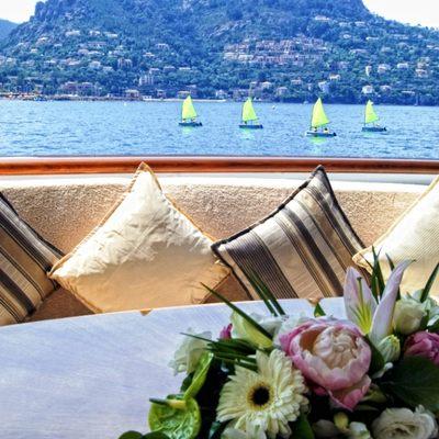 Accama Yacht Deck Detail