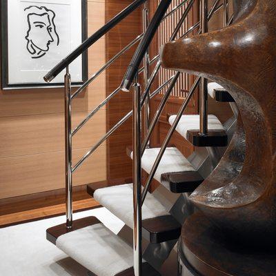 Kathleen Anne Yacht Stairway