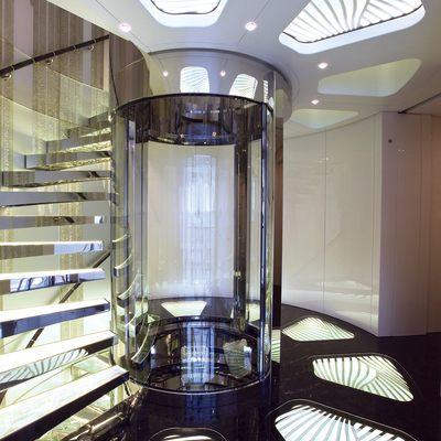 Quite Essential Yacht Elevator