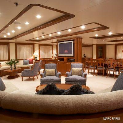 Seawolf Yacht Main Salon
