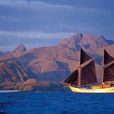 Silolona Yacht Landscape Shot