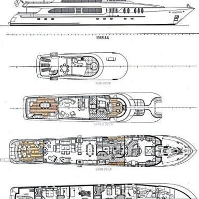 Just Enough Yacht Deck Plans