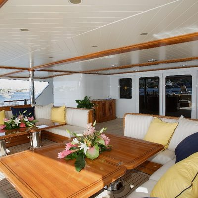 Freedom Yacht Main Deck Aft