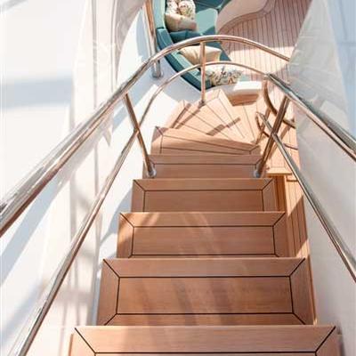 Avalon Yacht Deck Staircase