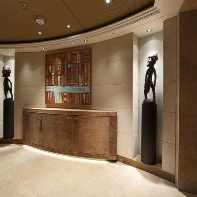 Naia Yacht Hallway Artwork