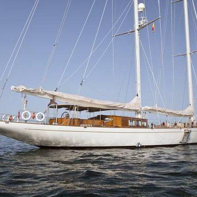 Gweilo Yacht Profile with Flag