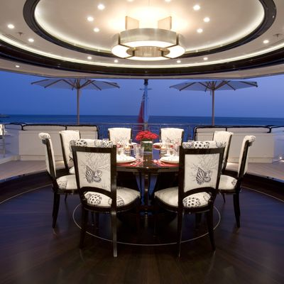 Alfa nero yacht photos 81m luxury motor yacht for charter for 5 star restaurant exterior