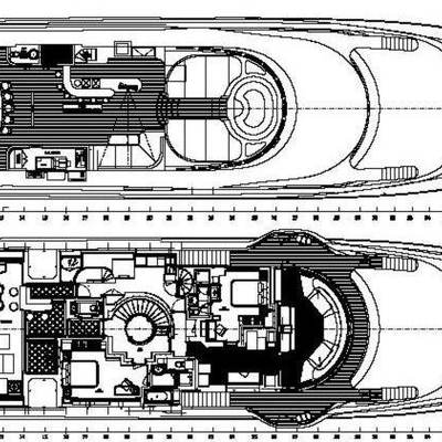 Bash Yacht Deck Plans