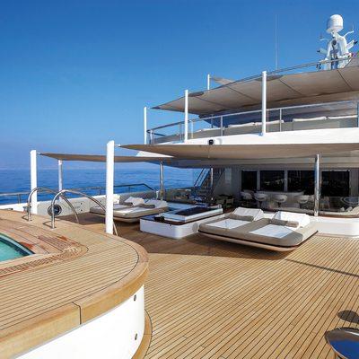Nautilus Yacht The Jacuzzi On The Sundeck