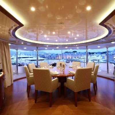 Harmony III Yacht Dining Looking Out