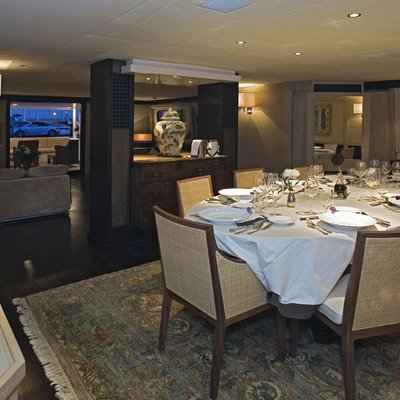 Sensei Yacht Dining Salon