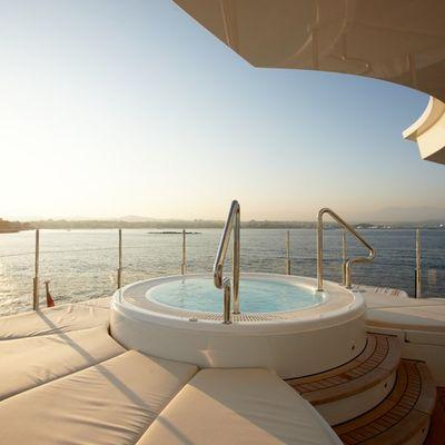 Northlander Yacht Jacuzzi - Sunset