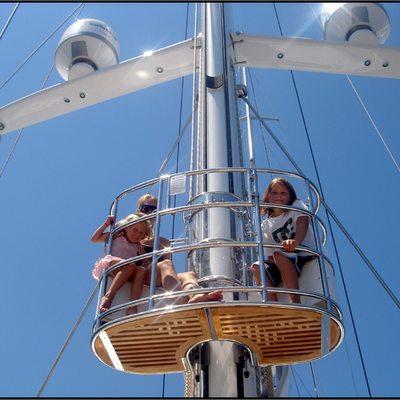 Parsifal III Yacht Crow's Nest
