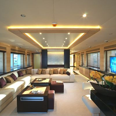 Tatiana I Yacht Main Salon - Overview