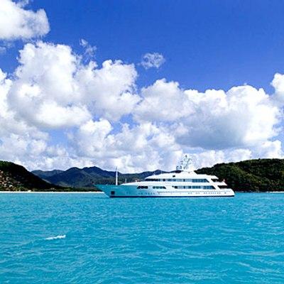Flag Yacht Landscape