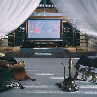 Tiara Yacht Open Air Cinema